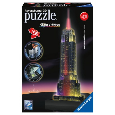 216 PZ 3D EMPIRE STATE BUILDING NIGHT ED