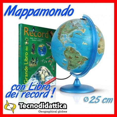 MAPPAMONDO RECORD CM25 + LIBRO RECOR