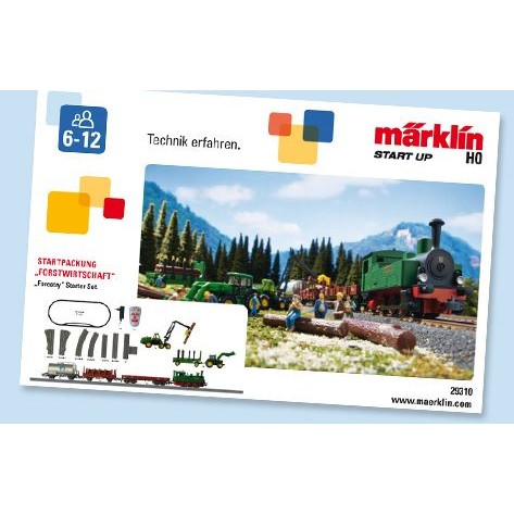 TRENO SET MARKLIN FORESTRY