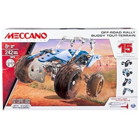 MECCANO SET 15 MODELLI