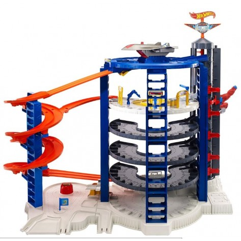 HOT WHEELS SUPER MEGA GARAGE