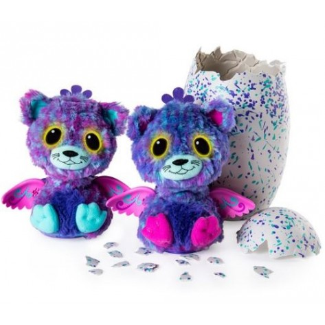 HATCHIMALS SUPRISE GEMELLI PEACAT
