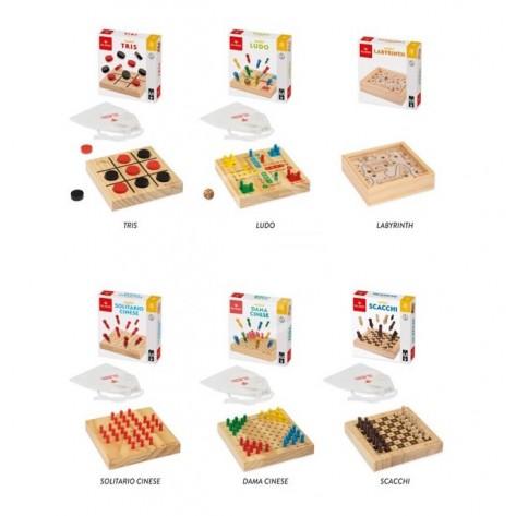 Giochi travel legno
