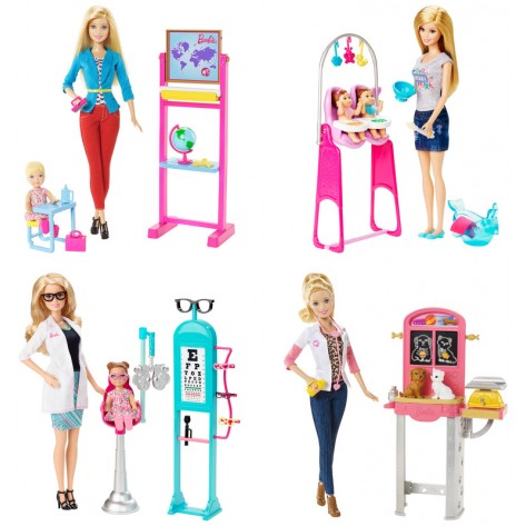 BARBIE CARRIERE CON ACCESSORI ASST.