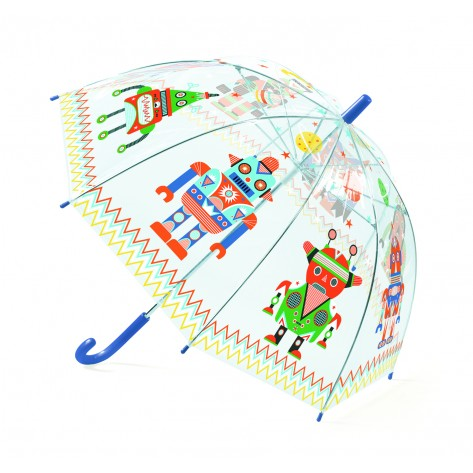 ombrello con robots djeco