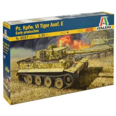 CARRO ARMATO TIGER AUSF.E KIT 1/35
