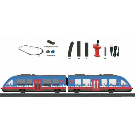 Modellino treno airport express