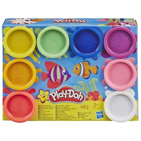PLAY-DOH SET 8 BARATTOLI ASS.