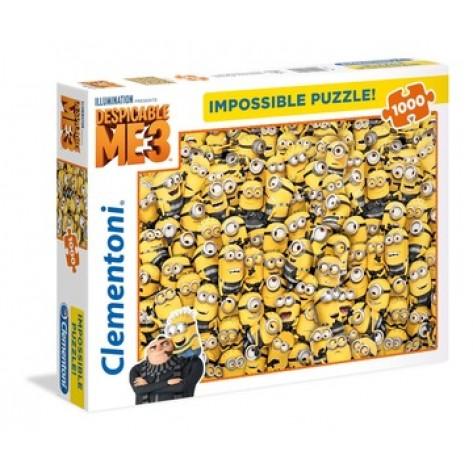 1000 PZ MINIONS 3 IMPOSSIBLE PUZZLE