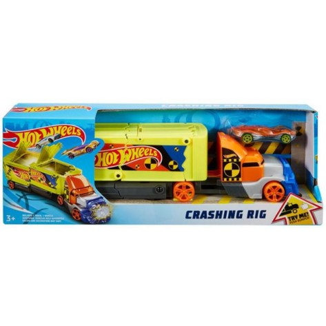 HOT WHEELS CAMION SCONTRI