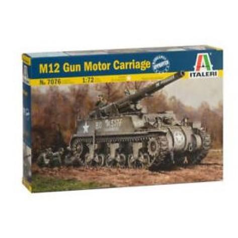 CARRO ARMATO M12 KIT 1/72