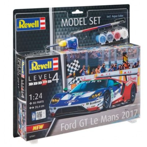 AUTO FORD GT40 LM2017 START KIT 1/24