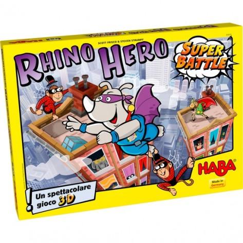 GIOCO RHINO HERO SUPER BATTAGLIA