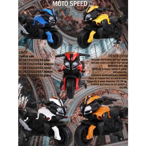 MOTO ELETTRICA SPEED 6V