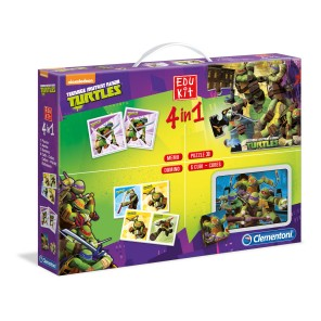 EDUKIT 4IN1 NINJA TURTLES