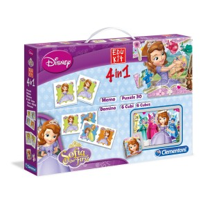 EDUKIT 4IN1 SOFIA THE FIRST
