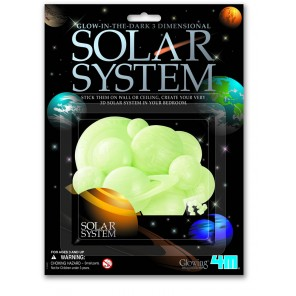 GLOW IN THE DARK SISTEMA SOLARE