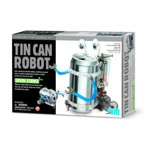 ROBOT C/LATTINA RICICLATA