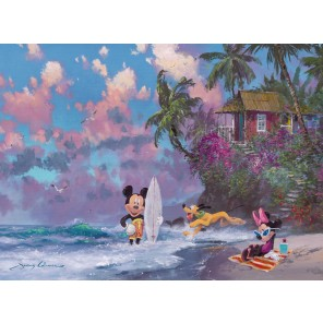 500 PZ ROMANTIC MICKEY SURF