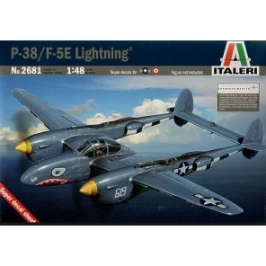 AEREI P-38/F-5E LIGHTNING KIT 1/48