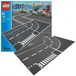 LEGO CITY INCROCIO E CURVA