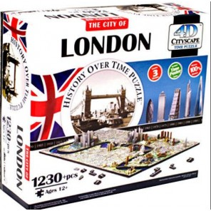 PUZZLE 4D: LONDRA 1200PZ