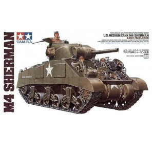 CARRO ARMATO M4 SHERMAN KIT 1/35