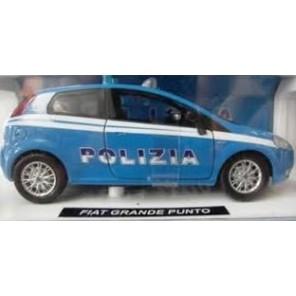 AUTO FIAT PUNTO FORZE DELL'ORDINE 1/24