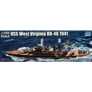 NAVE USS WEST VIRGINIA 1941 KIT 1/700