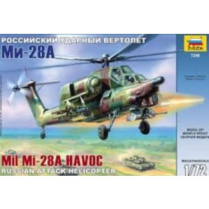 ELICOTTERO MI-28A HAVOC KIT 1/72
