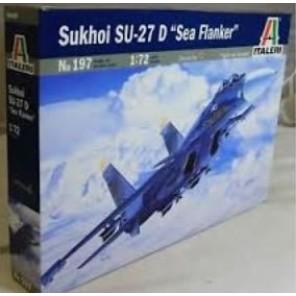 AEREO SUKHOI SU-27 SEA FLANKER KIT 1/72