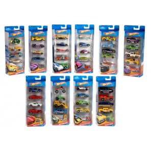 HOT WHEELS SET 5 AUTO