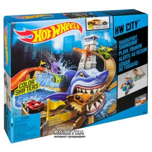 HOT WHEELS PISTA SQUALO SPIAGGIA