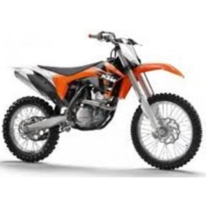 MOTO KTM CROSS 350 1/12