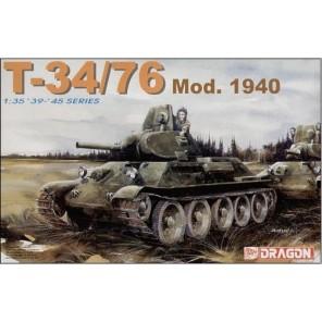 CARRO ARMATO T34/76 1940 KIT 1/35