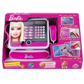 BARBIE REGISTRATORE DI CASSA