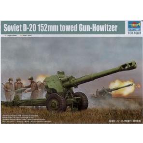 CANNONE SOVIET D-20 KIT 1/35