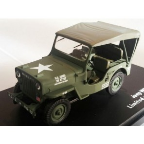 JEEP WILLYS CJ3B 1/43