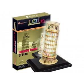 3D PUZZLE TORRE DI PISA CON LED