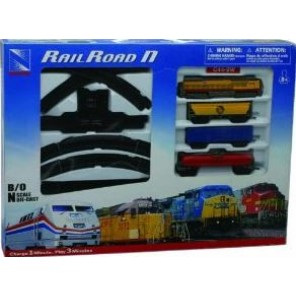SET TRENO UNION PACIFIC BATTERIA