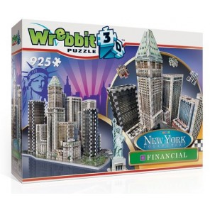 PUZZLE 3D NEW YORK FINANCIAL