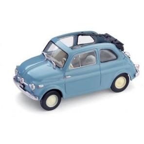 AUTO FIAT 500 BLU 1/43