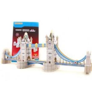 PUZZLE 3D LEGNO TOWER BRIDGE
