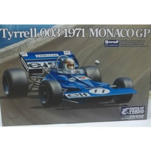 AUTO TYRRELL 003 1971 KIT 1/20