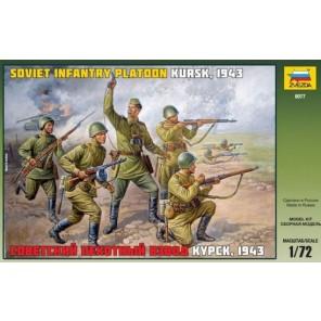SOLDATI FANTERIA RUSSA 1943 1/72