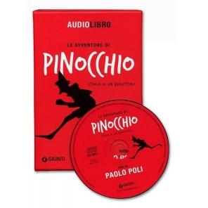 AUDIOLIBRO PINOCCHIO LETTO DA P. POLI