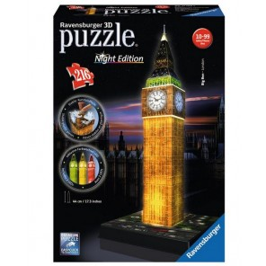 216 PZ 3D BIG BEN NIGHT EDITION