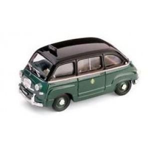 AUTO FIAT 600 MULTIPLA TAXI MILANO 1/43