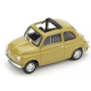 AUTO FIAT 500R GIALLA 1/43