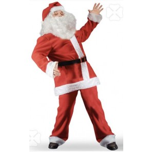 COSTUME BABBO NATALE IN PILE TG XL